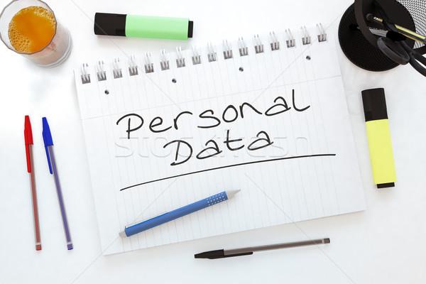 Personal Data Stock photo © Mazirama