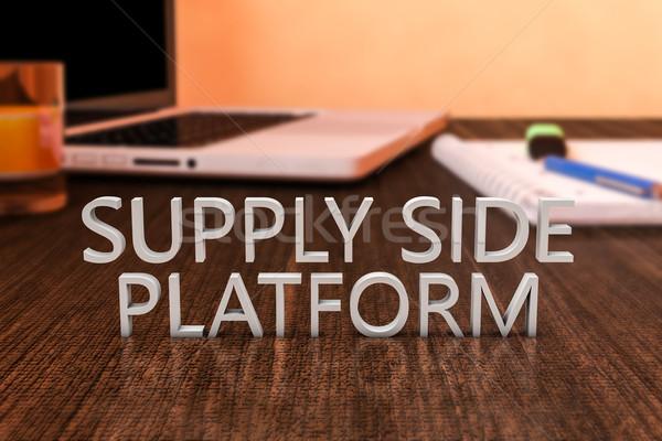 Supply Side Platform Stock photo © Mazirama