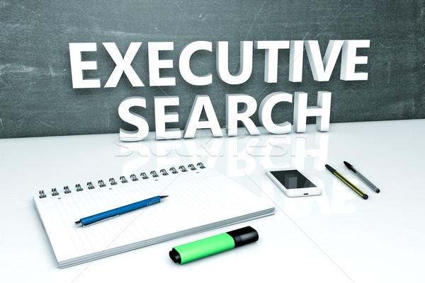 Executive Search text concept Stock photo © Mazirama