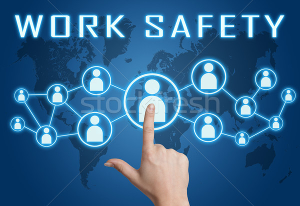 Work safety text concept Stock photo © Mazirama