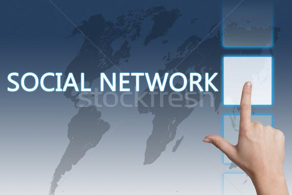 Social Network Stock photo © Mazirama