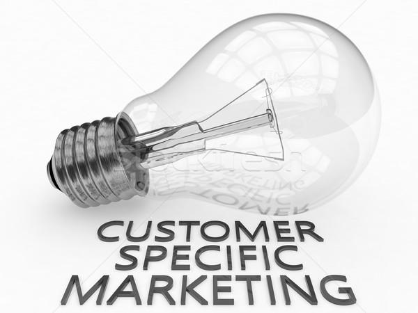 Customer Specific Marketing Stock photo © Mazirama