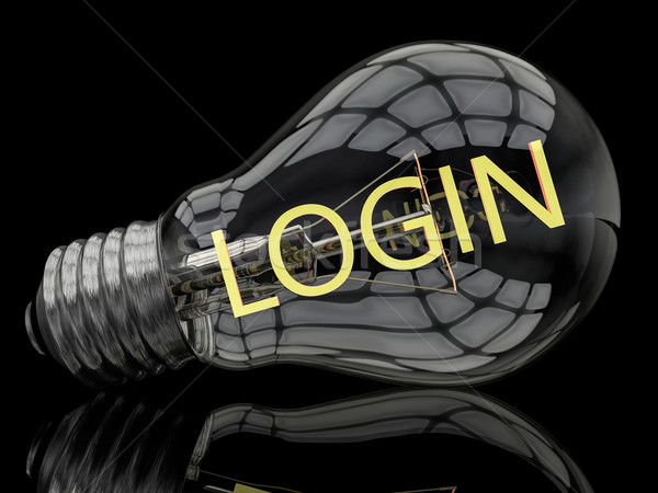Login Stock photo © Mazirama