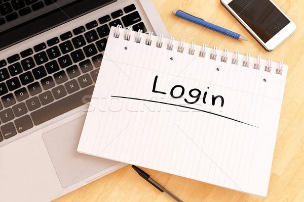 Login Stock photo © Mazirama