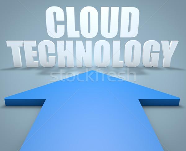 Cloud Technology Stock photo © Mazirama