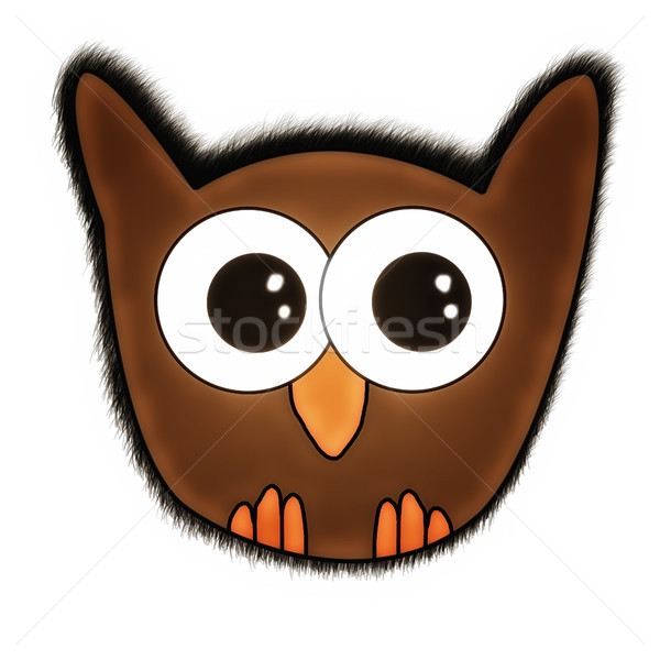 Cute Owl Stock photo © Mazirama