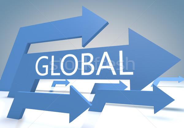 Global Stock photo © Mazirama