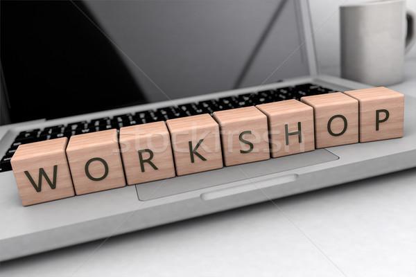 Workshop Stock photo © Mazirama