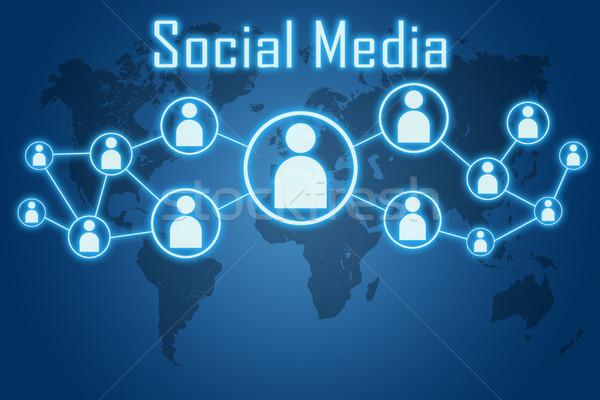 social media concept Stock photo © Mazirama