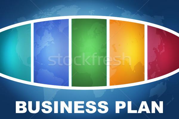Business Plan Stock photo © Mazirama