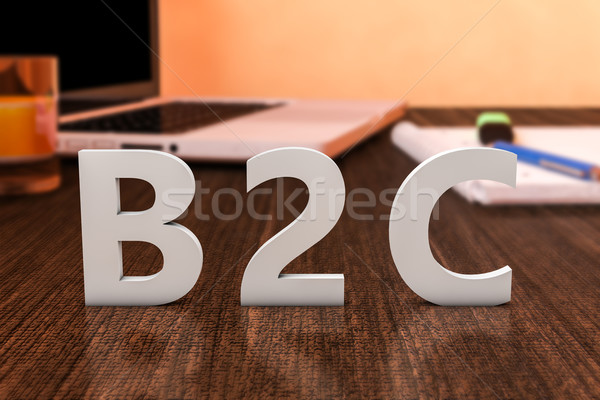 Business to Customer Stock photo © Mazirama