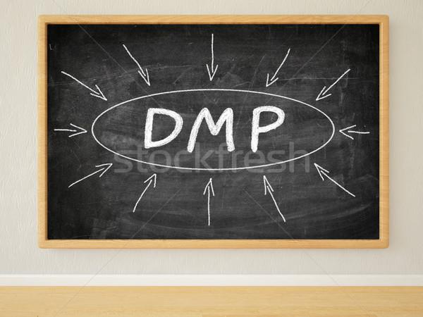 Foto stock: Dados · gestão · dívida · plano · 3d · render