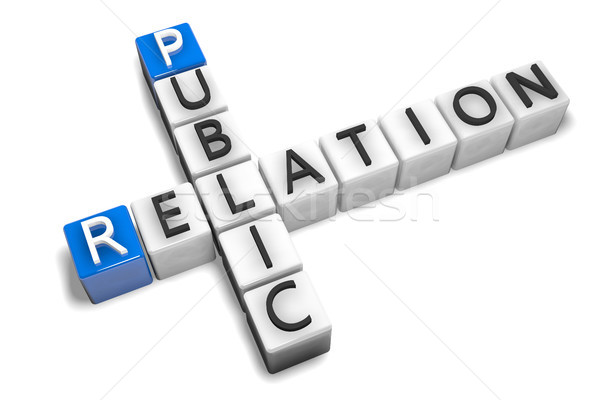 Crossword Public Relation Stock photo © Mazirama