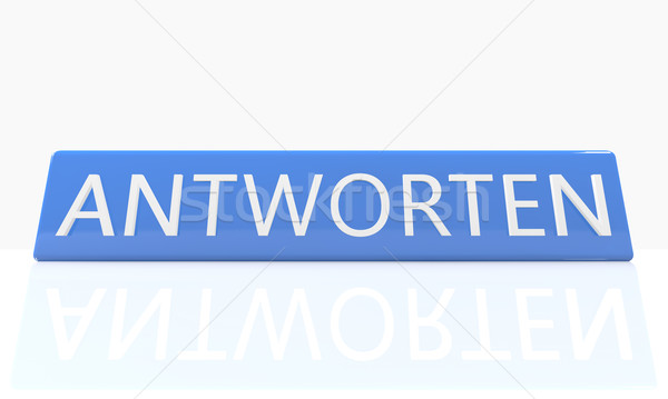 Antworten Stock photo © Mazirama