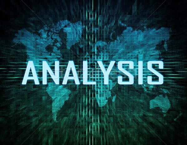 Analyse Stock photo © Mazirama