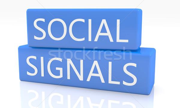 Social Signals Stock photo © Mazirama