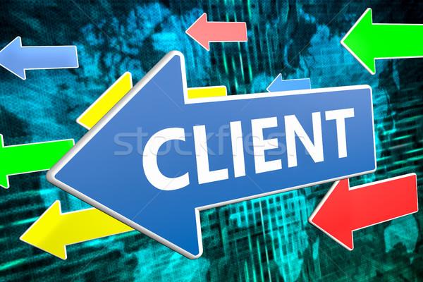Client Stock photo © Mazirama