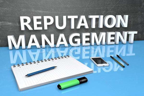 Reputation Management text concept Stock photo © Mazirama