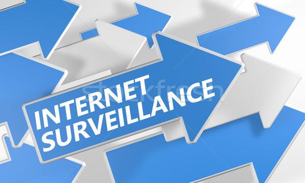 Internet surveillance Stock photo © Mazirama