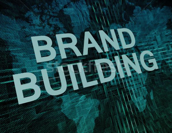 Brand Building Stock photo © Mazirama
