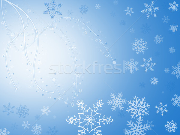 рождество карт Рождества синий Сток-фото © Mazirama