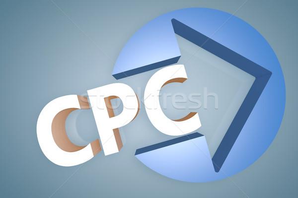 Cost per Click Stock photo © Mazirama