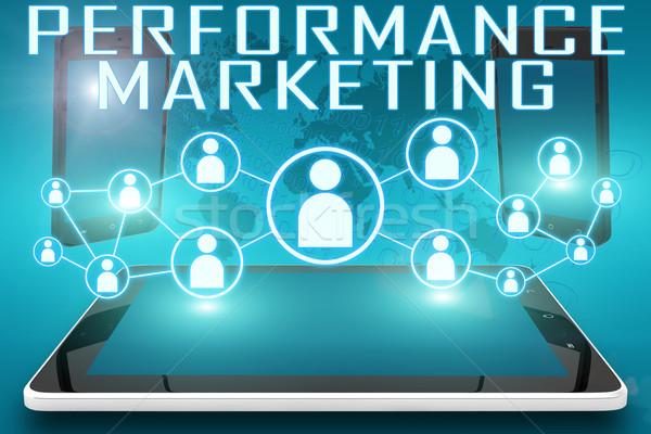 Performance Marketing Stock photo © Mazirama