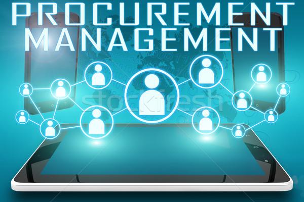 Procurement Management Stock photo © Mazirama