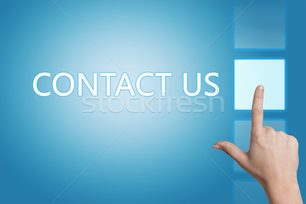 Stock photo: Contact us