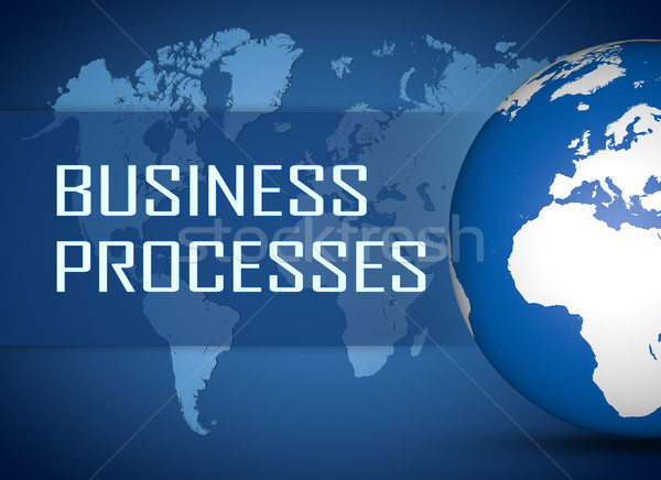 Business Processes Stock photo © Mazirama