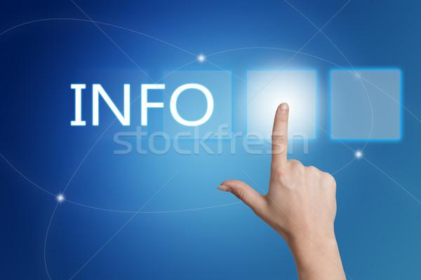Info Stock photo © Mazirama