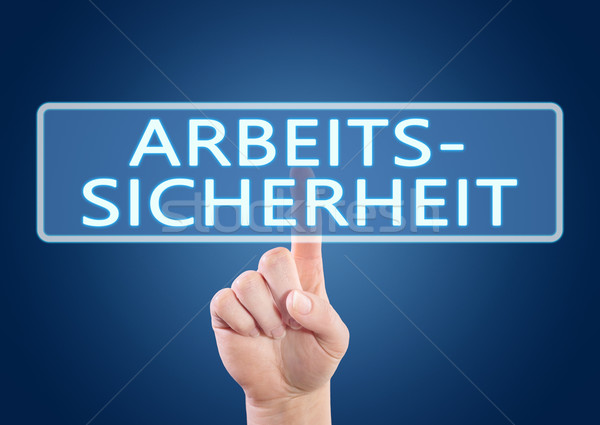 Arbeitssicherheit Stock photo © Mazirama