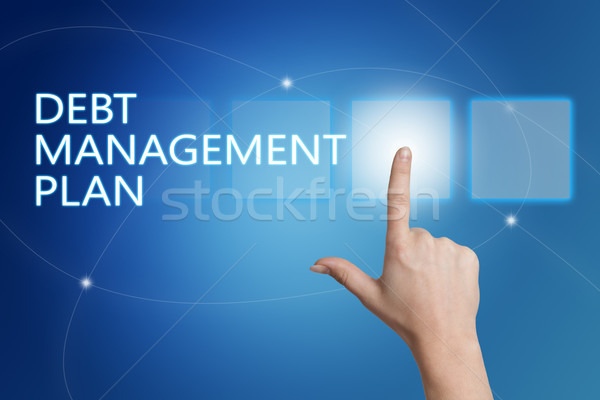 Debt Management Plan Stock photo © Mazirama