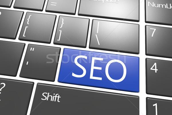 Seo web desarrollo palabra negocios Foto stock © Mazirama