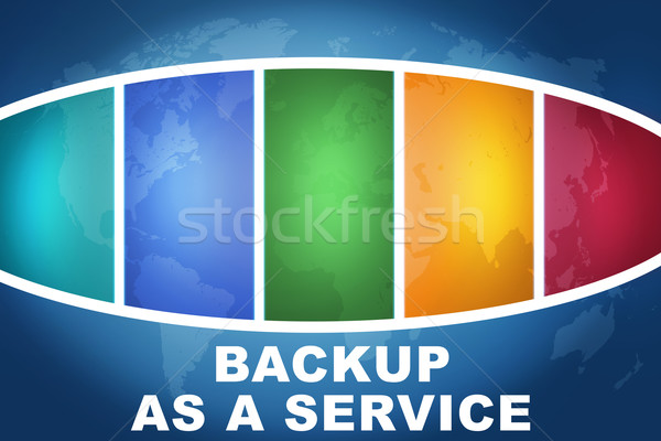 Backup as a Service Stock photo © Mazirama