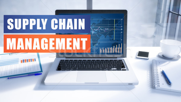 Supply Chain Management Stock photo © Mazirama
