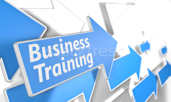 Stock photo: Business Training