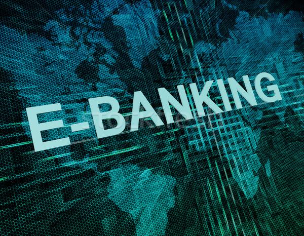 E-Banking Stock photo © Mazirama