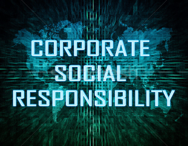 Stock photo: Corporate Social Responsibility