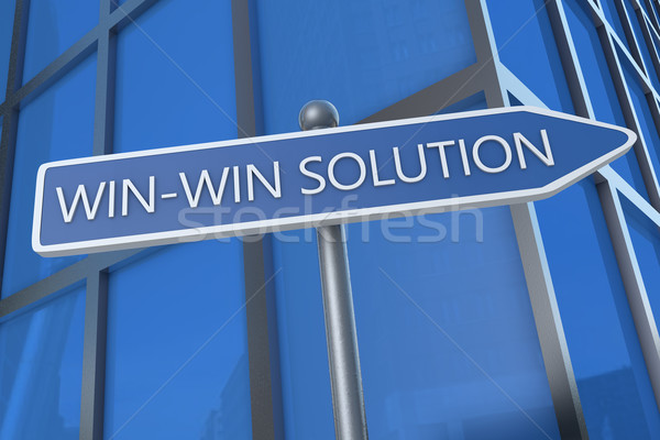 Win-Win Solution Stock photo © Mazirama