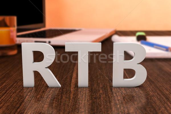 Real Time Bidding Stock photo © Mazirama