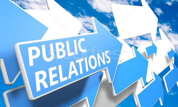 Public Relations Stock photo © Mazirama
