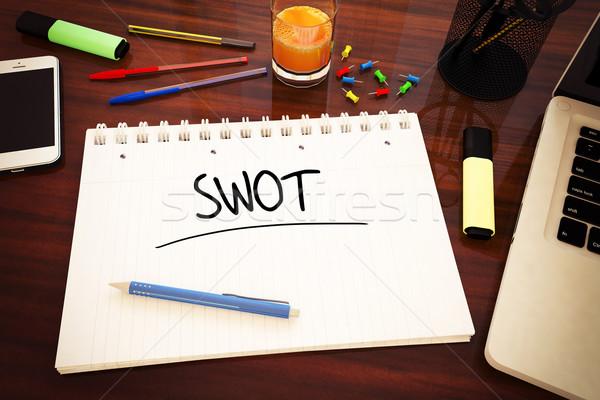 SWOT Stock photo © Mazirama