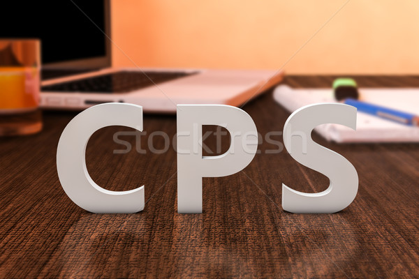 стоить продажи письма столе Сток-фото © Mazirama