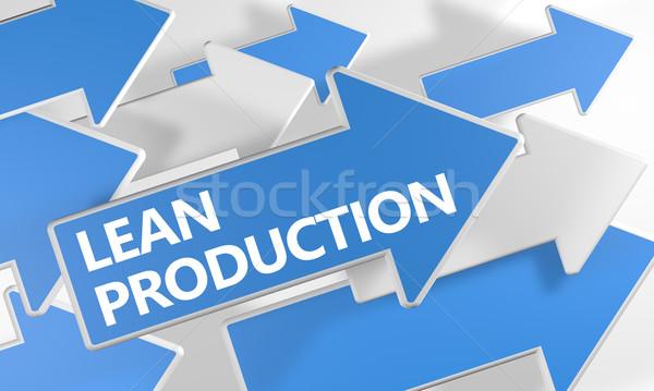 Stock photo: Lean Production