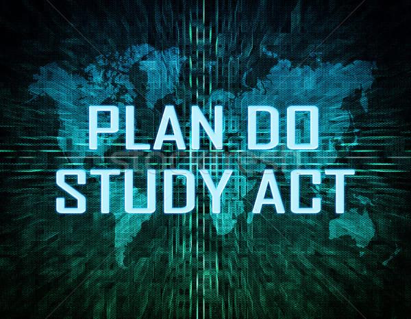 Stok fotoğraf: Plan · çalışma · hareket · metin · yeşil · dijital