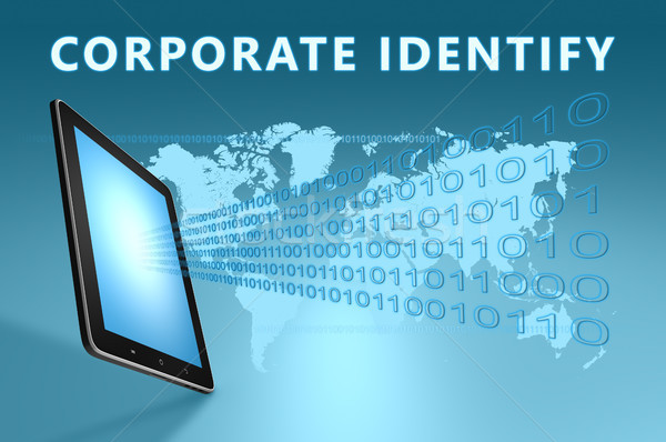 Corporate Identify Stock photo © Mazirama