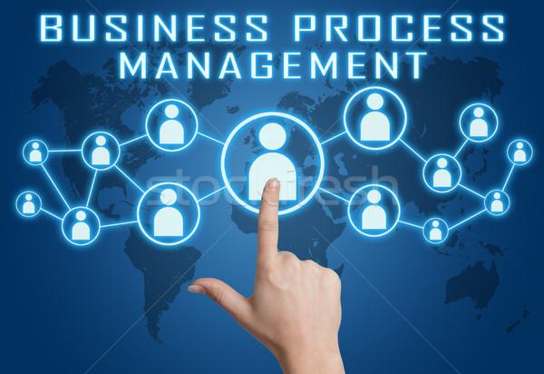 Business Process Management Stock photo © Mazirama