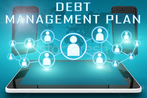 Debt Management Plan Stock photo © Mazirama