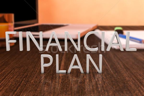 Stock photo: Financial Plan